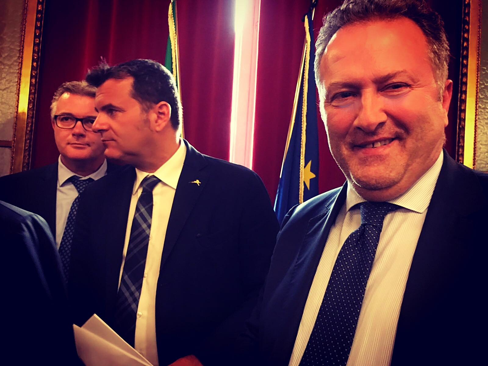 """Vertice a Roma col ministro dell'Agricoltura, Cavaliere: """"Piena sintonia sulle nostre istanze"""""""