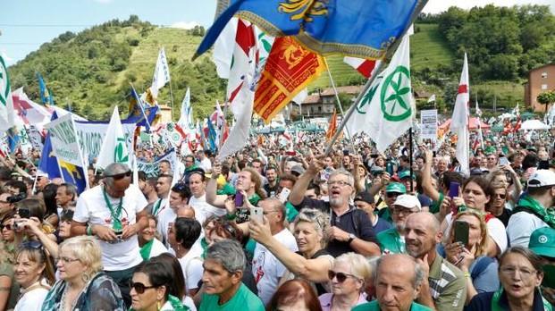 Il raduno della Lega a Pontida, tanti erbesi presenti: