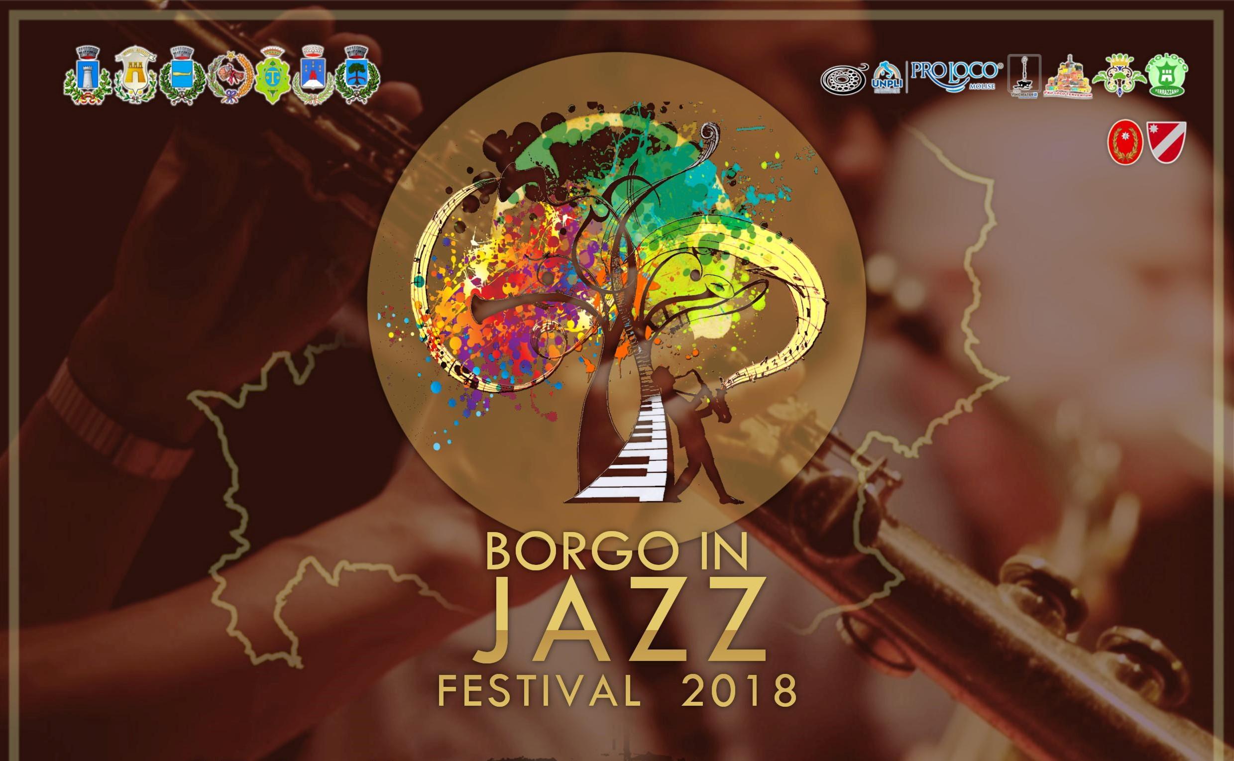 Edizione 2018 di Borgo in Jazz, il festival dal sapore anglo-molisano