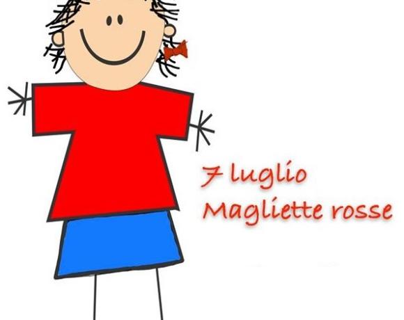 Una maglia rossa per difendere i diritti dei bambini nel mondo