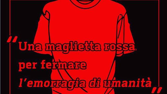 'Maglietta rossa', anche Campobasso aderisce all'iniziativa