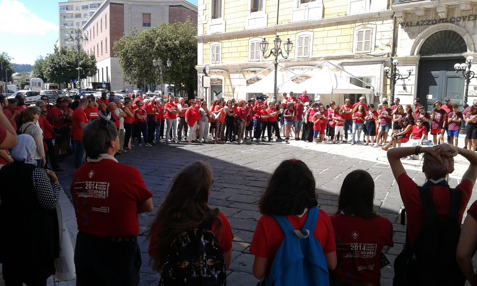 Magliette rosse, il Molise c'è contro le stragi in mare