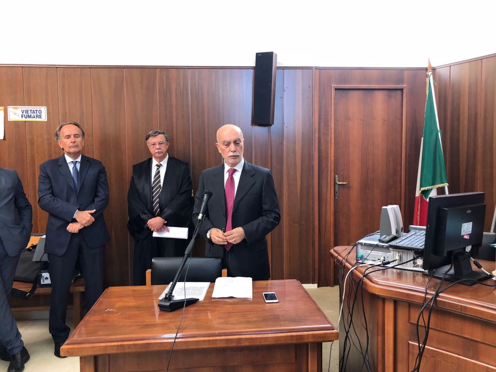 Carlo Fucci nuovo Procuratore di Isernia