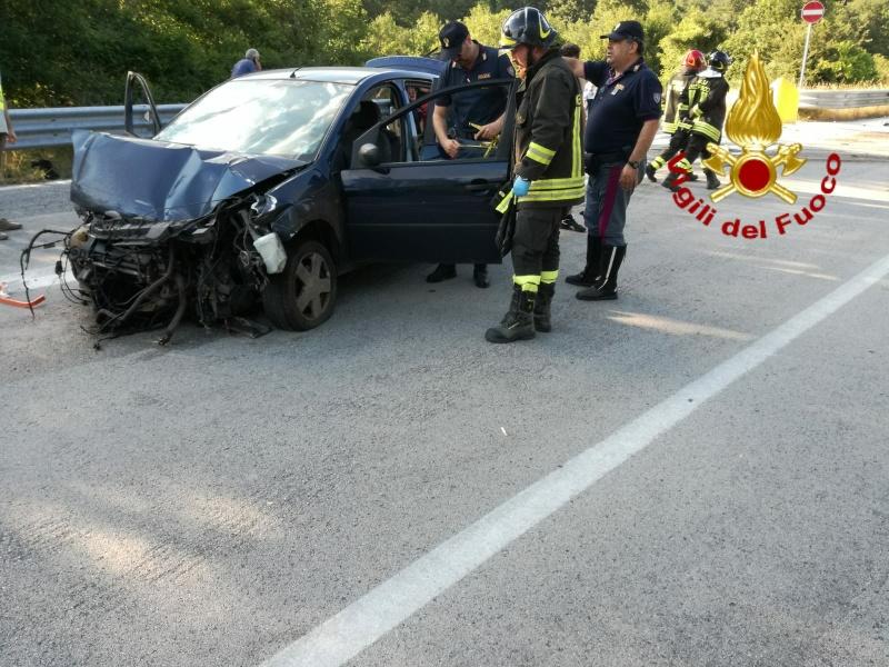 Cinque i giovani coinvolti nell'incidente stradale sulla SS 650 verso Isernia
