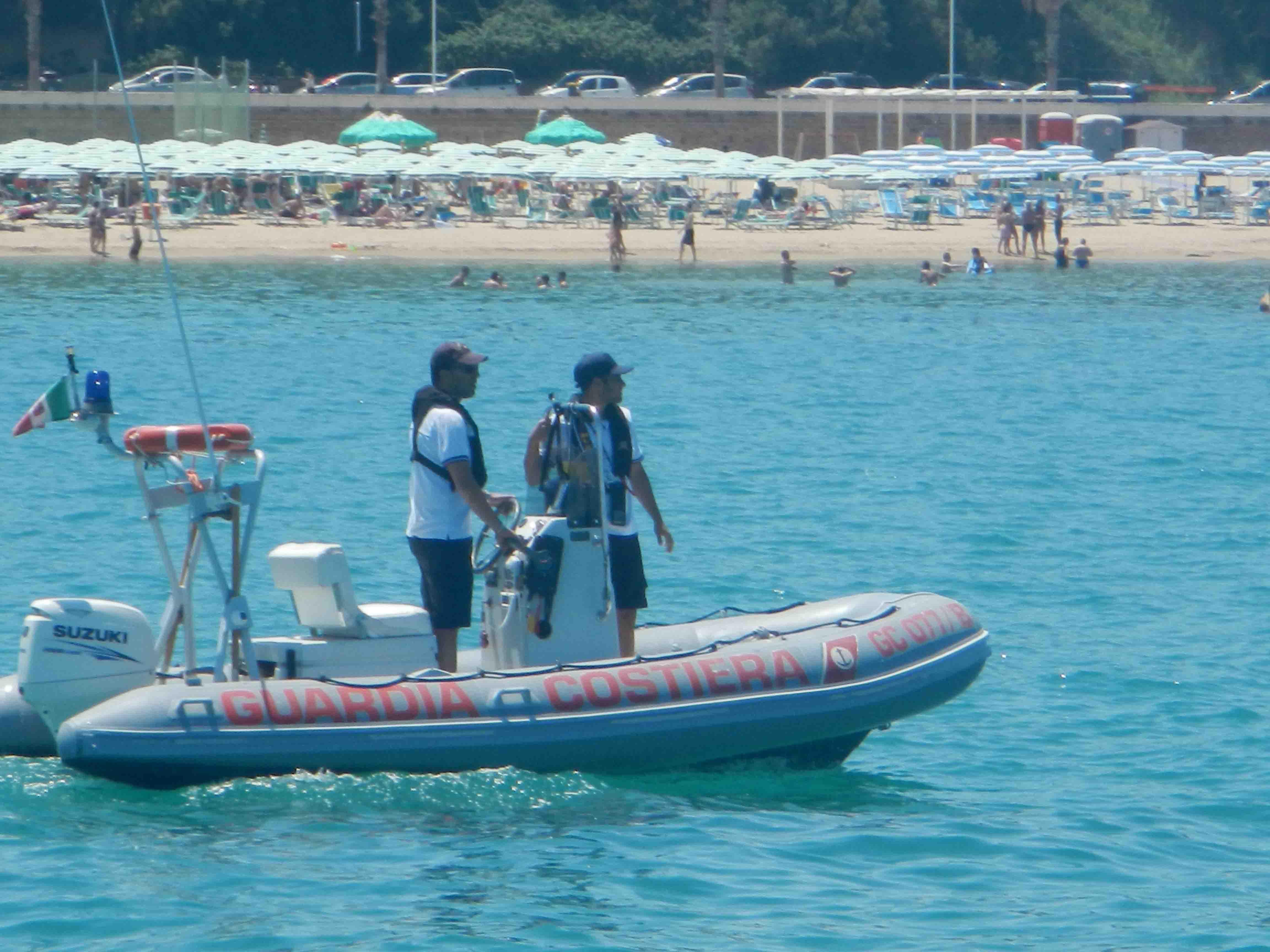 Operazione 'Mare sicuro 2018', l'impegno degli uomini della Guardia Costiera molisana