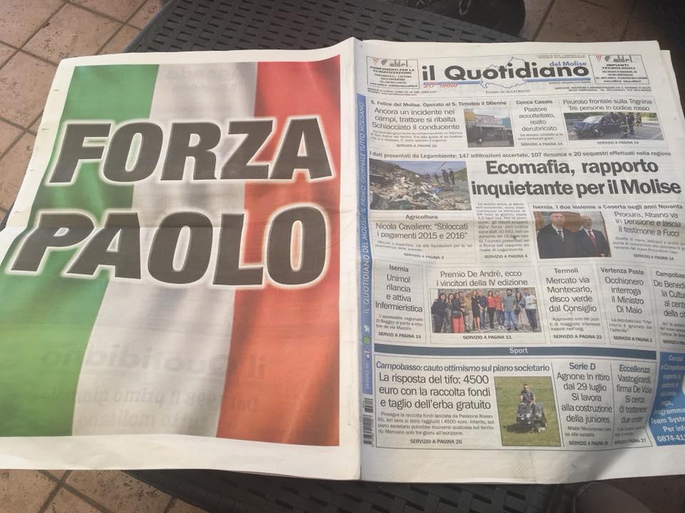 Fine di un incubo, Paolo trasferito a Volterra. I ringraziamenti della mamma del softgunner