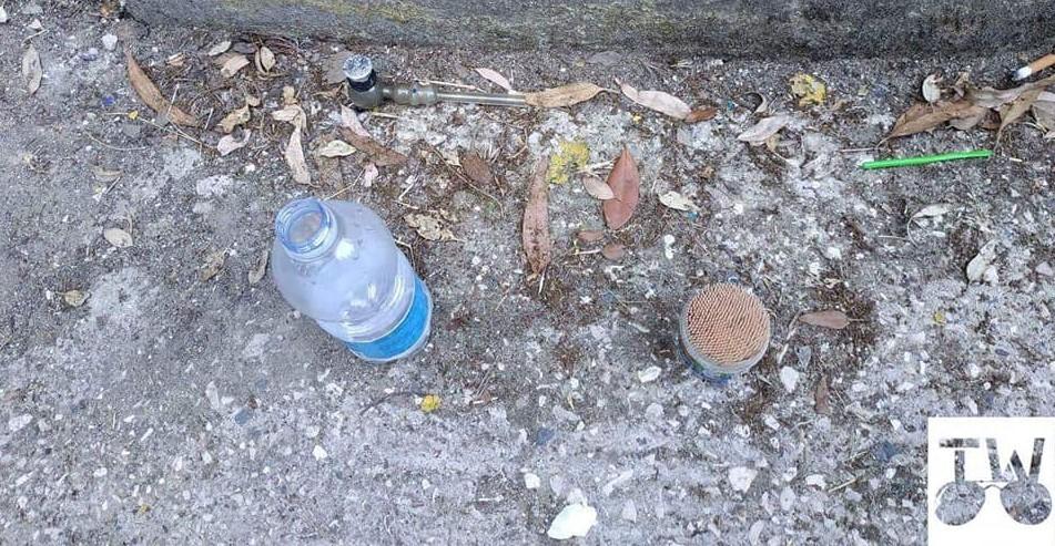 Nel parco strumenti per il crack, la denuncia di 'Termoli Wild' (LE FOTO)