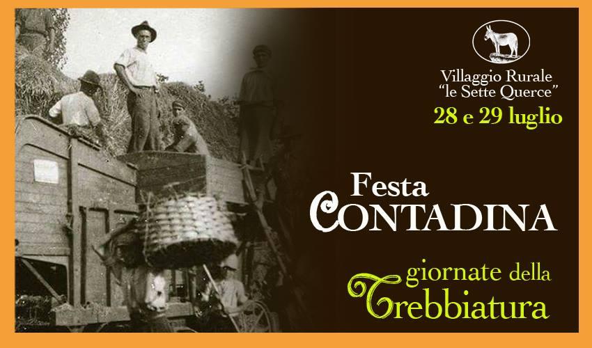 """INIZIATIVE – """"Festa Contadina"""" a Le Sette Querce di Monte Cesima"""