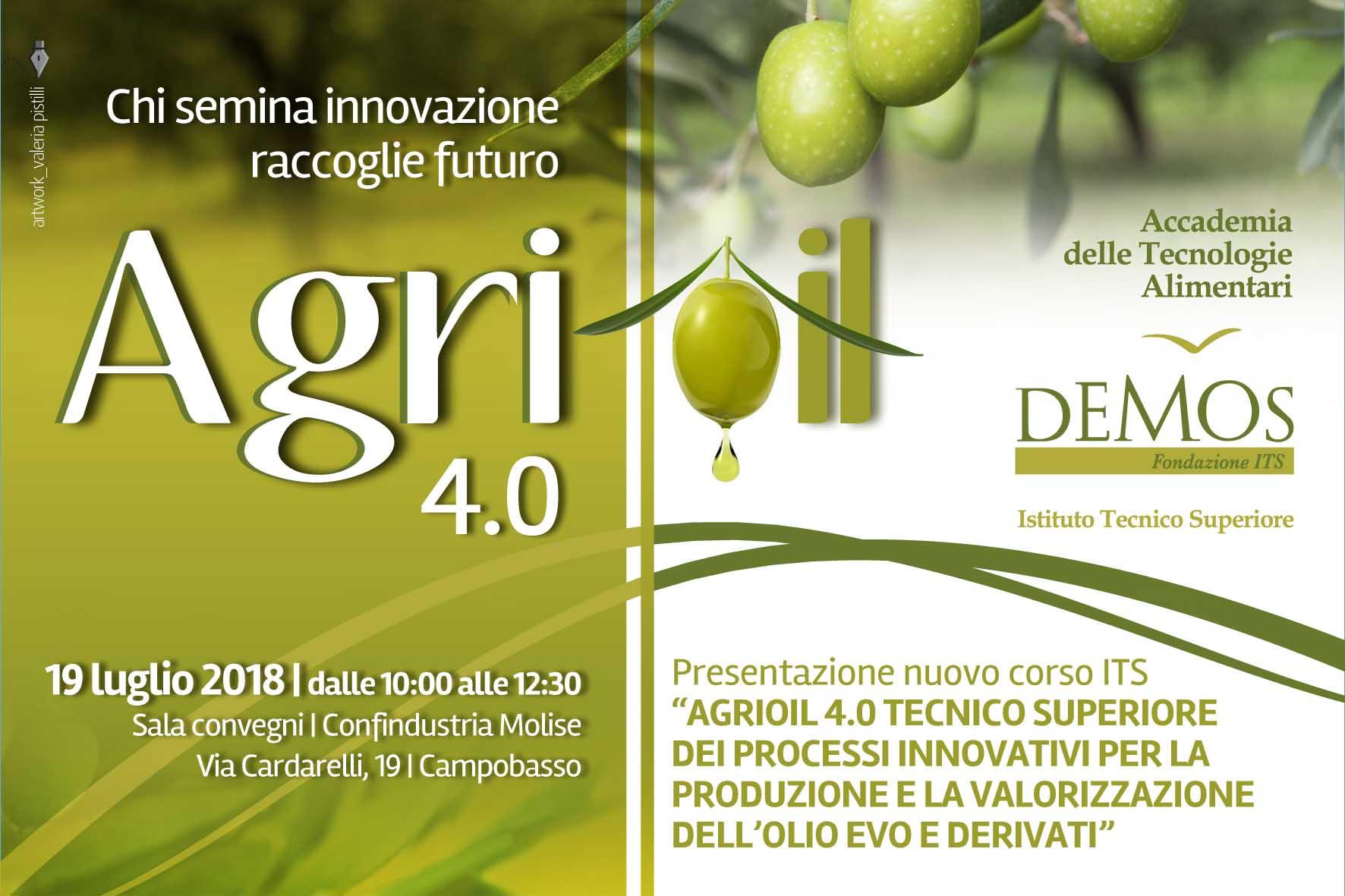 LAVORO – ITS D.E.Mo.S., al via il nuovo corso AgriOil 4.0