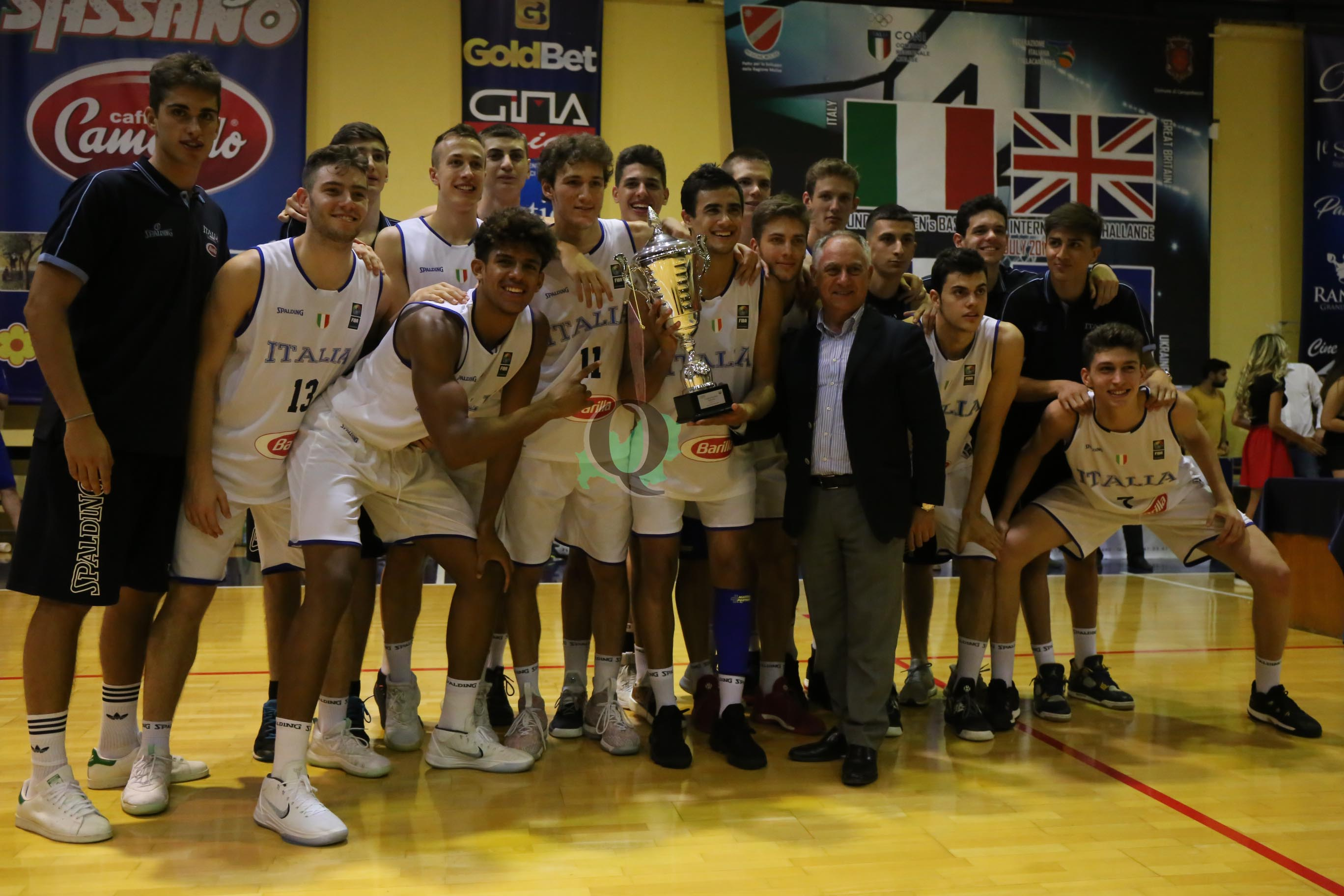 International Basket Challenge, è ancora Italia