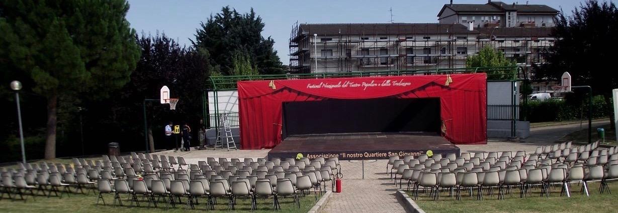 Festival del Teatro Popolare a San Giovanni, buona la 'prima' ma pochi i posti a sedere
