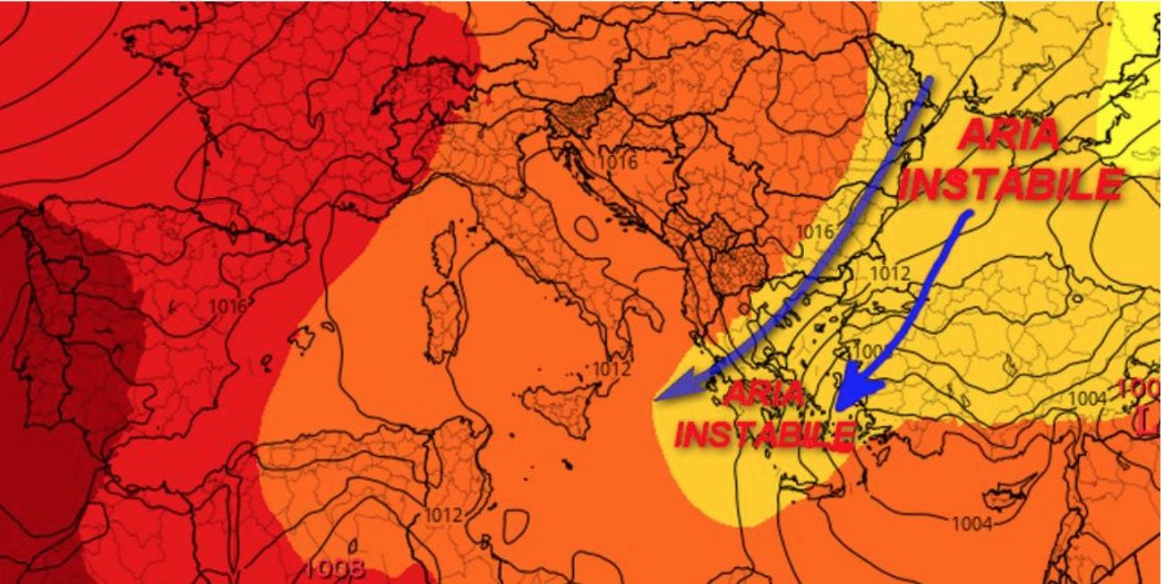 METEO IN MOLISE – Caldo agosto interrotto da qualche temporale