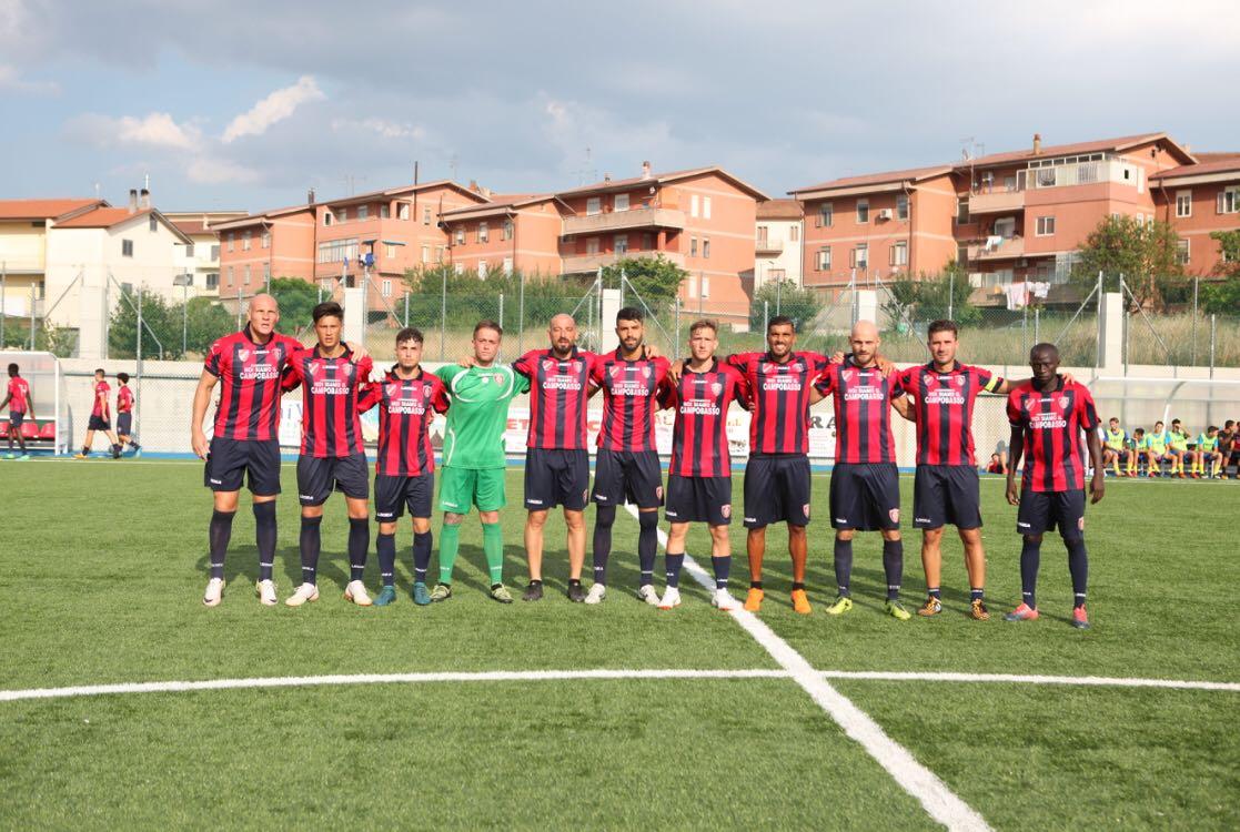 Ancora una vittoria per i rossoblù: 4 a 2 contro il Pietramontecorvino
