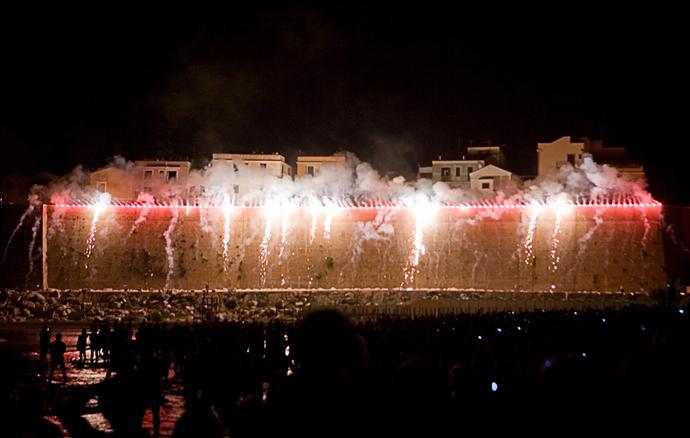 'Incendio del Castello', fuochi pirotecnici rinviati a domenica 19 agosto