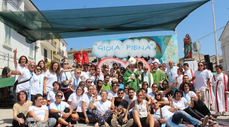 EVENTI – Festival dei giovani Gioia Piena da oggi e fino al 26 a Petrella