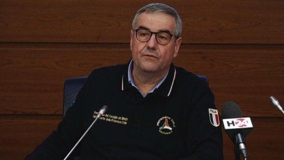 In Molise il  Capo della Protezione Civile Angelo Borrelli