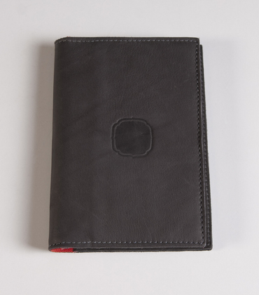 Leather notebook 25mars - Grey
