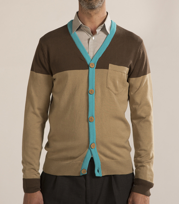 Cardigan Honoré - Marron