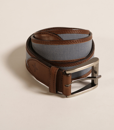 Belt Capritex - Blue/white
