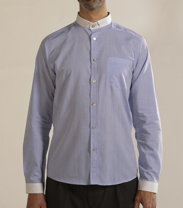 Shirt Lissagaray 02 - Blue