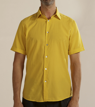 Shirt Moussu - Yellow