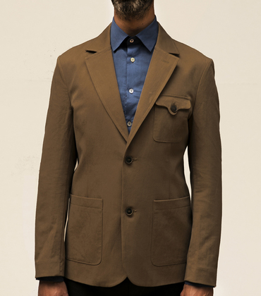 Suit jacket Gustave - Camel