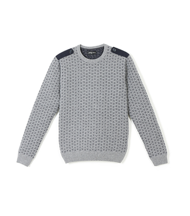 Sweater Riquet - Grey/blue