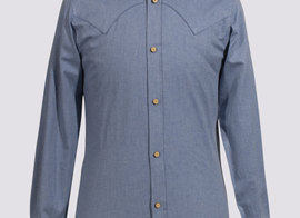 Shirt Vermorel - Blue