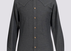 Shirt Vermorel - Dark grey