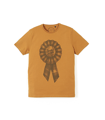Tee-shirt Cocarde - Golden brown
