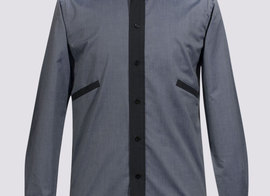 Shirt Blanqui - Blue-grey