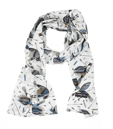 Pattern scarf Birds