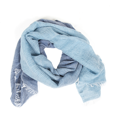 Scarf Binaire - Blue