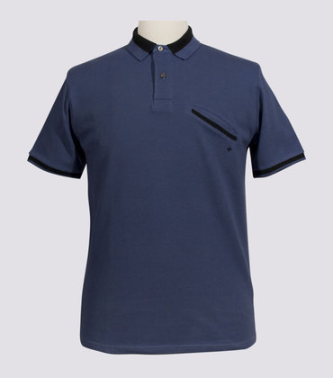 Polo Roquette - Blue-grey