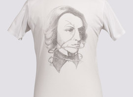 Tee-shirt Portrait - White