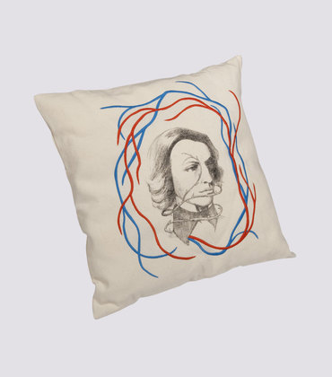 Cushion Portrait -