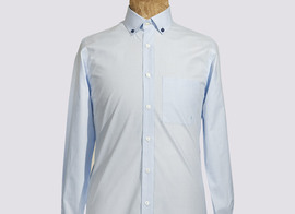 Shirt Delescluze - Light blue