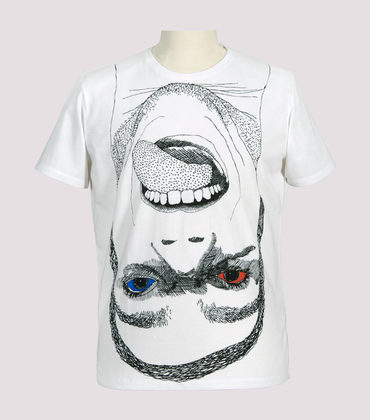Tee-shirt Langue - White