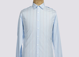 Shirt Hya-Michel - Striped blue