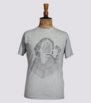 Tee-shirt Madame - Marl grey