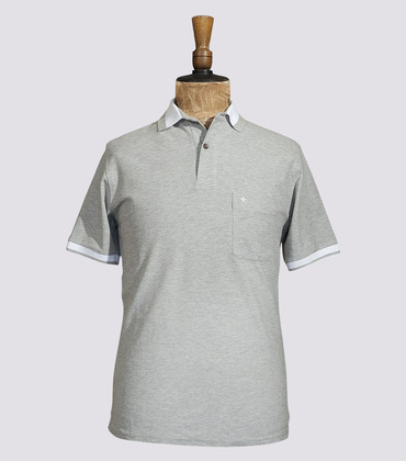 Polo Vendôme - Marl grey