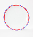 Diner plate Tricolores 