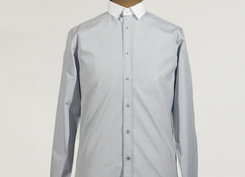 Shirt Cluseret - Light grey