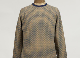 Sweater Luxembourg - Grey/brown