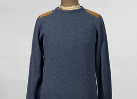 Sweater Chabanais - Marl blue