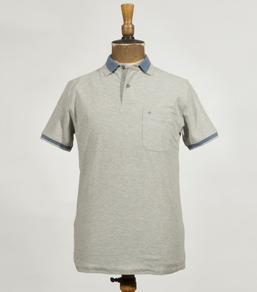 Polo Vendôme - Grey/blue