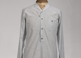 Shirt Arnault - Grey stripes