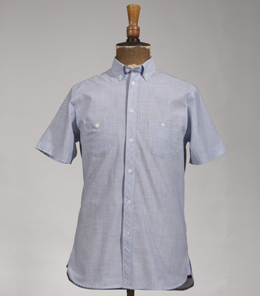 Shirt Assi - Blue stripes