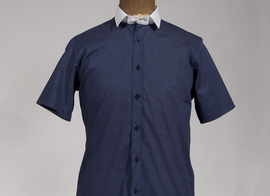 Shirt Dmitrieff  - Checked blue