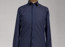 Shirt Rocherfort - Checked blue